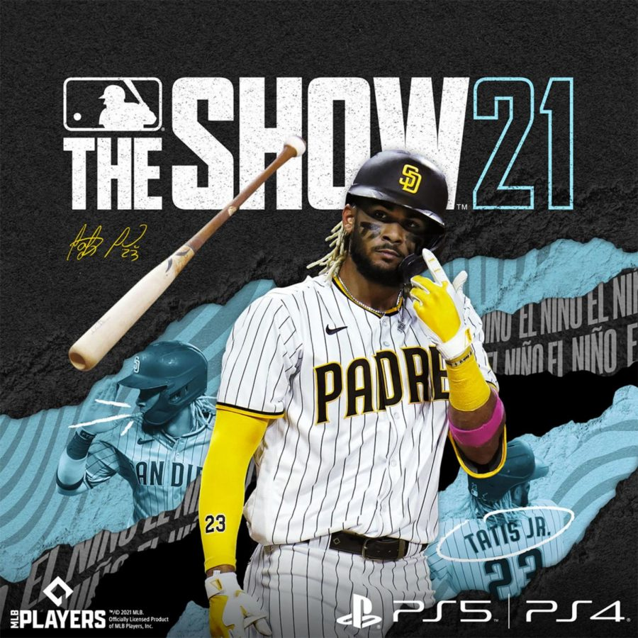 Fernando+Tatis+Jr.+of+the+San+Diego+Padres+is+on+the+cover+of+MLB+The+Show+21.
