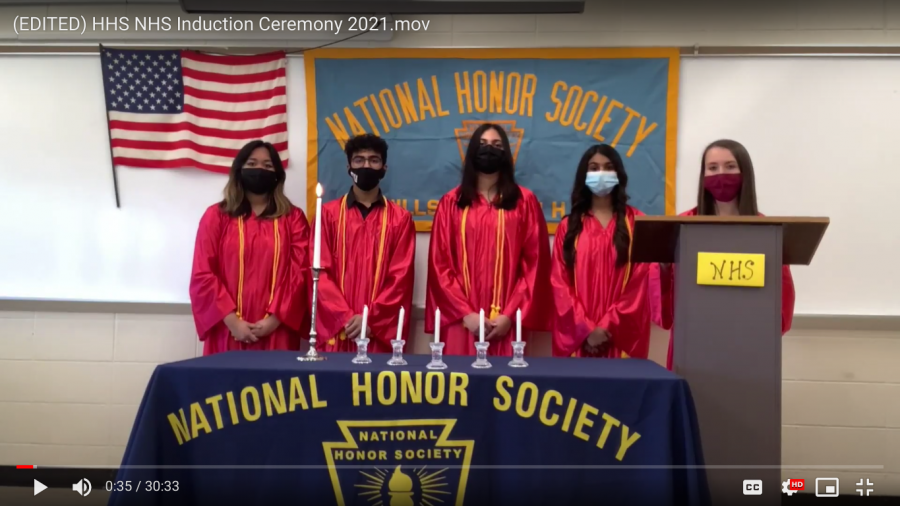 2021 NHS Induction Ceremony Welcomes new Seniors and Juniors