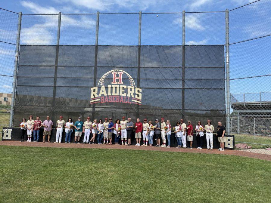 Hillsborough Baseball Celebrates Senior Day
