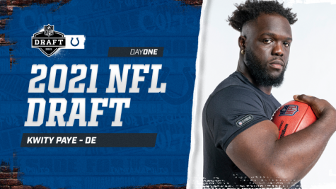 Kwity Paye was drafted to the Indianapolis Colts as the 21st overall pick.