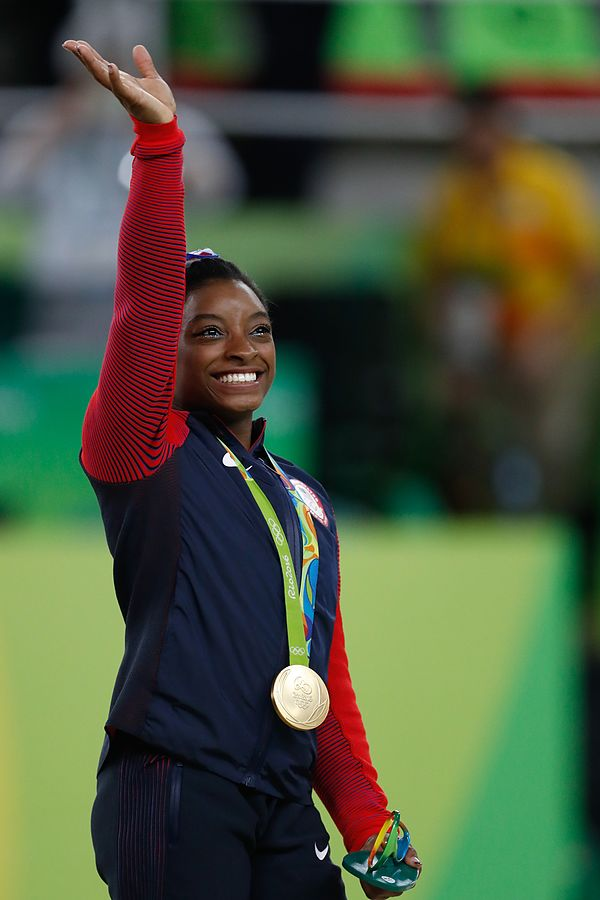 Simone Biles participated in her first Olympics at age 19.