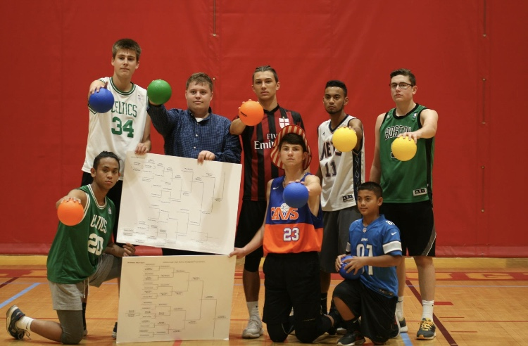 Dodgeball Tournament sparks friendly competition and helps